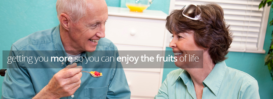 getting you more so you can enjoy the fruits of life