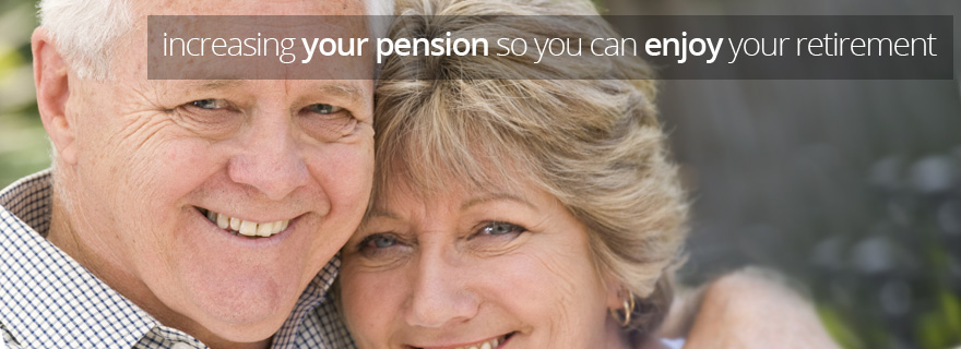 increasing your pension so you can enjoy your retirement